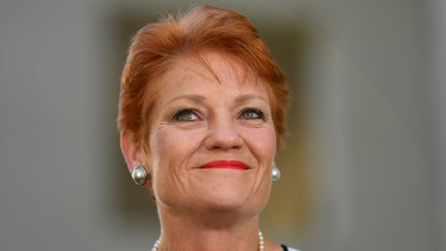 One Nation Senator Pauline Hanson's party is one the rise in Queensland. (AAP)