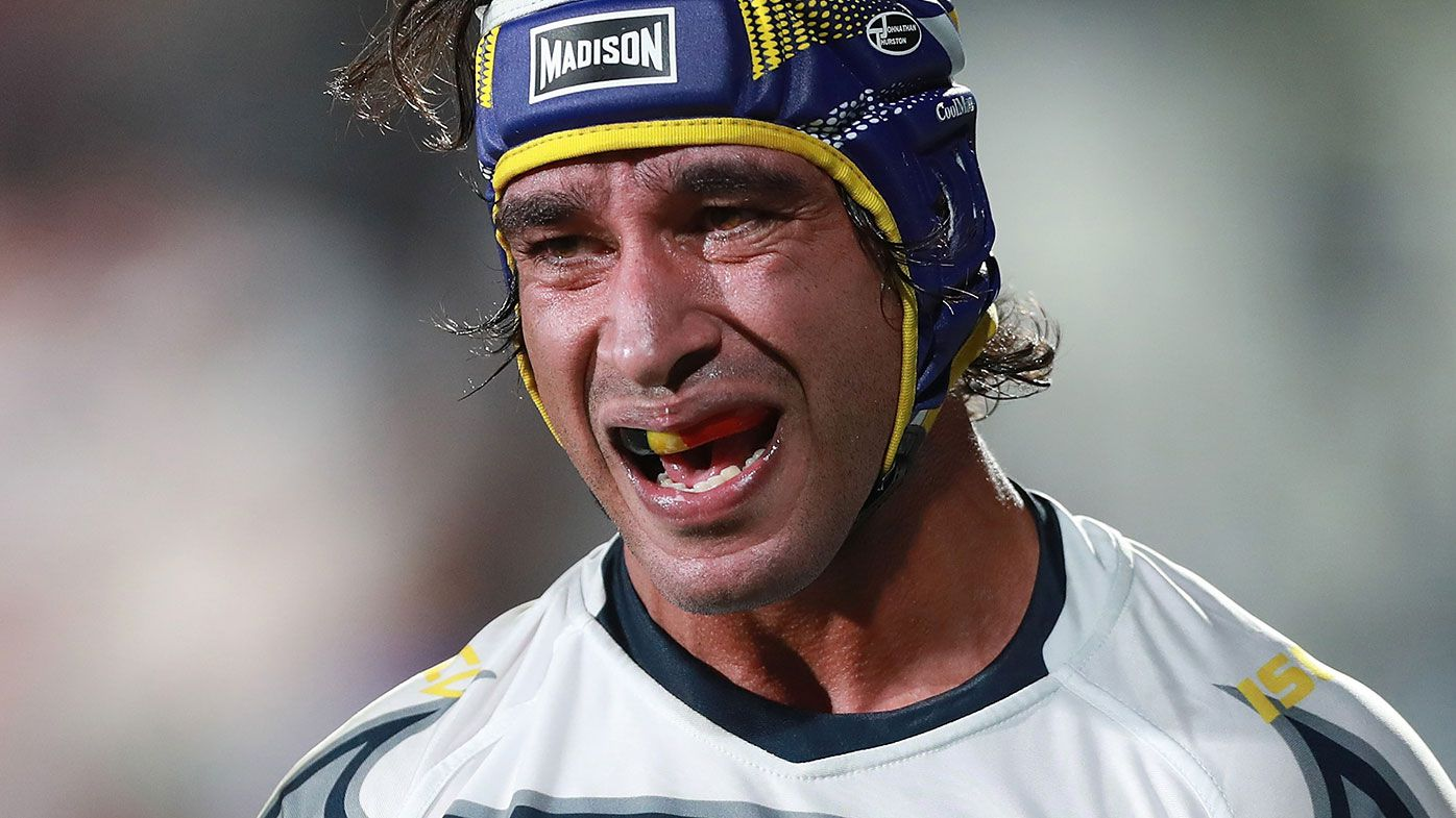 North Queensland Cowboys NRL star Johnathan Thurston