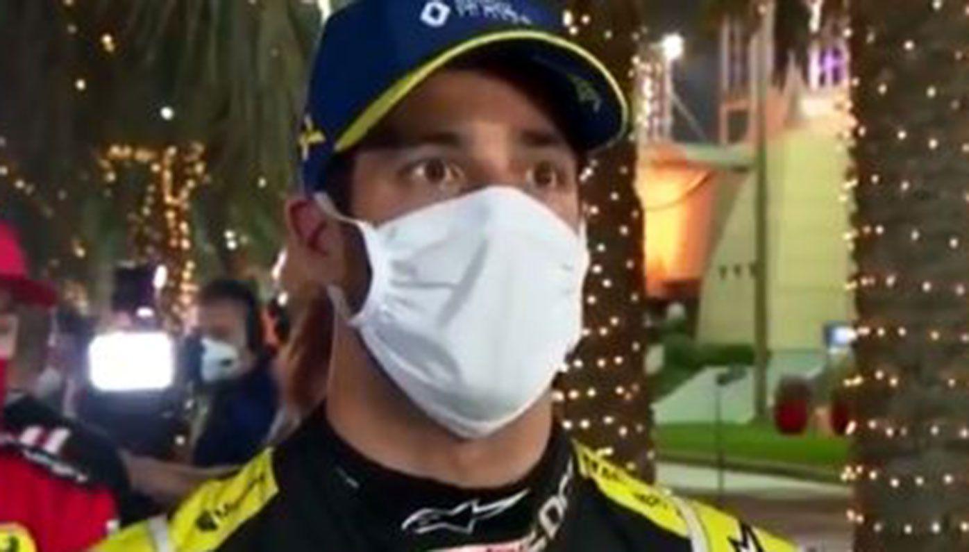 Daniel Ricciardo has hit out at the coverage of Romain Grosjean's horror crash at the Bahrain GP.