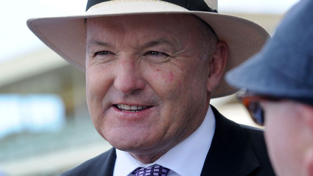 Hall of Fame trainer Dabid Hayes. (AAP)