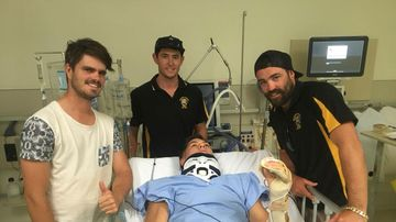 Crowd-funding campaign set up for injured NTFL player Tai Martin-Page