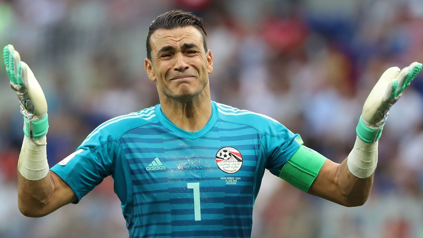 Egypt goalkeeper Essam El Hadary sets World Cup record for oldest player