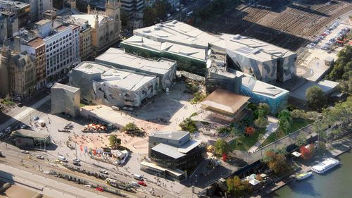 Part of the landmark will be demolished to make way for the large Apple pavilion.