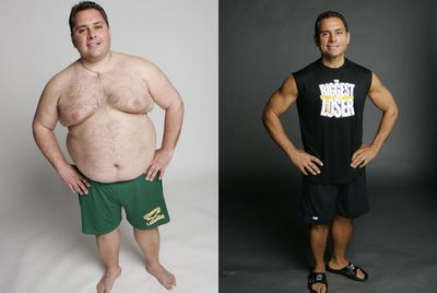 <strong>Bill Germanakos (lost 84kg)</strong>