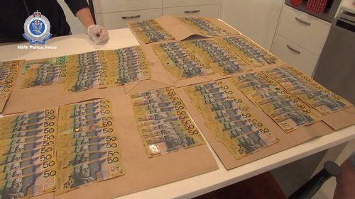 News NSW Police drug raids Dubbo Cessnock Newcastle V8 Supercar seized $140,000 cash cannabis busts