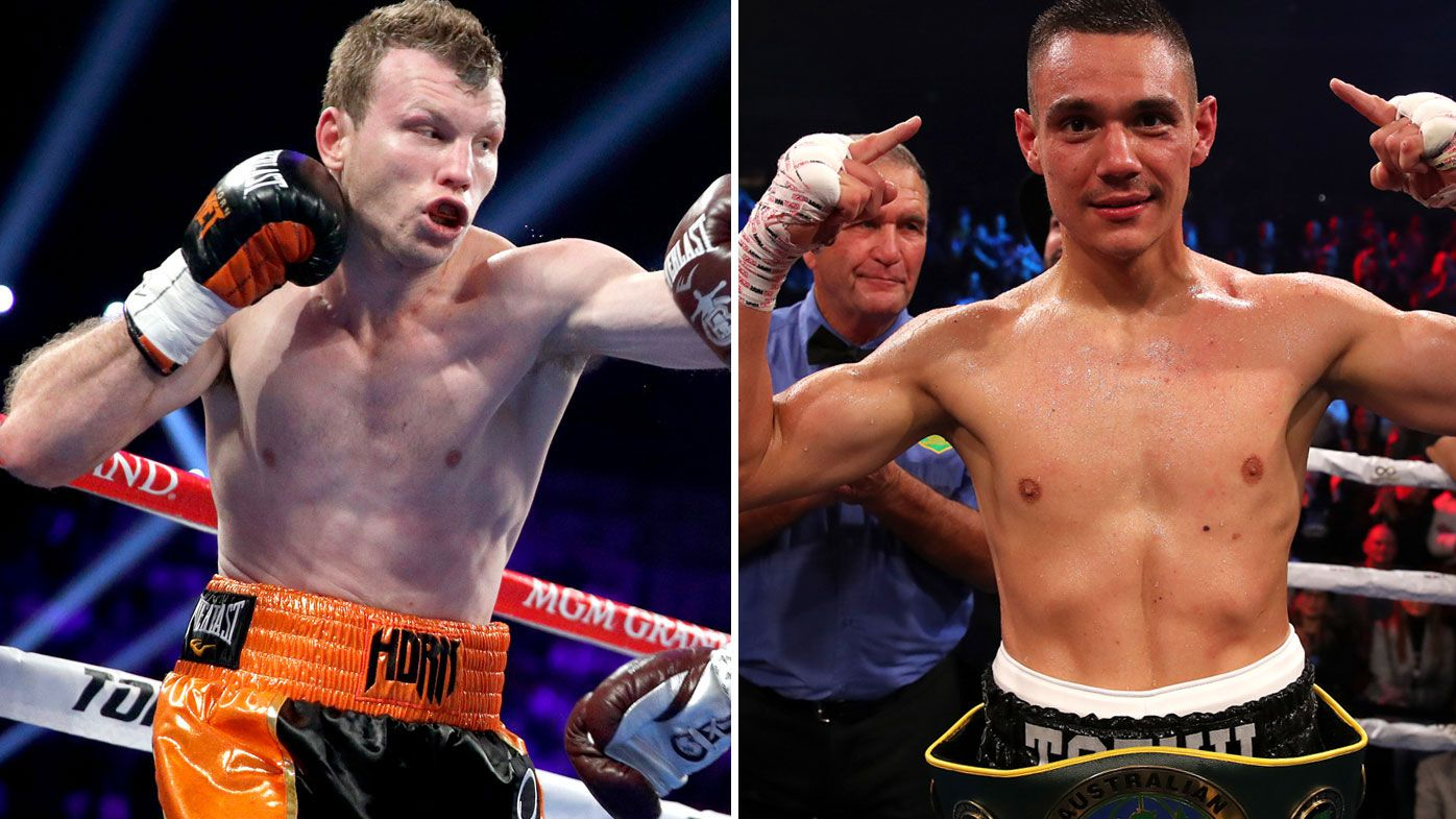 'He's there to be hit': Jeff Horn fires back at Tim Tszyu following boxing call-out