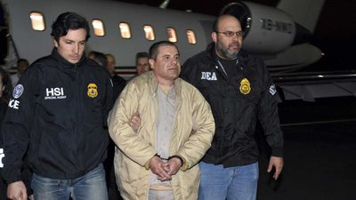 El Chapo 'a scapegoat for real drug lord'