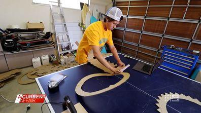 A young man's $10,000 novel cardboard idea