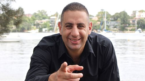 Rob Shehadie. (Channel 9)