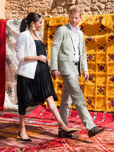 Prince Harry and Meghan Markle new photos from Africa