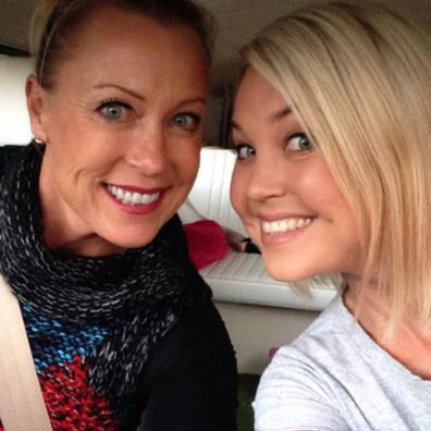 Lisa Curry and daughter Jaimi Kenny.