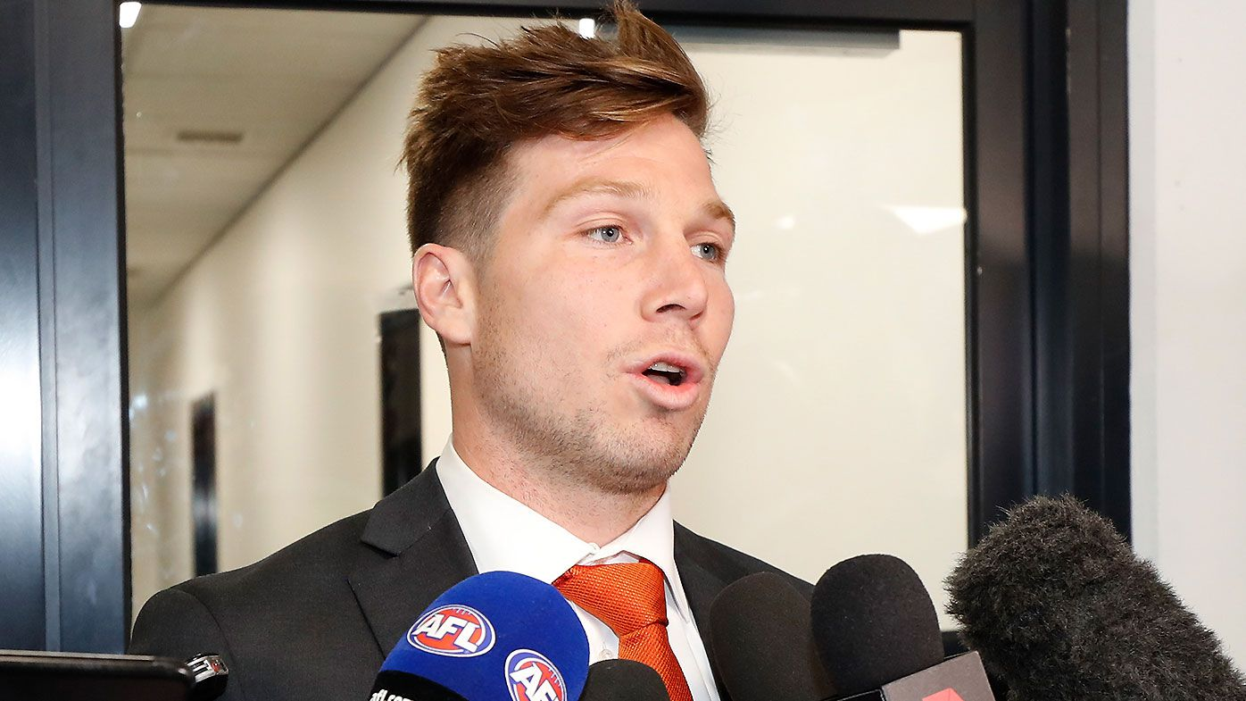How Luke Hodge could help curb GWS Giants star Toby Greene's bad habits