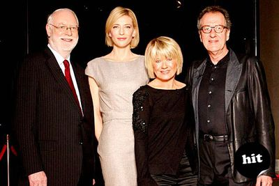 Australia's favourite film critics Margaret Pomeranz and David Stratton (aka Mags and Dags — everyone call them that from now on!) hit their 25th year together on TV in 2011, celebrating with a special episode presented by Cate Blanchett and Geoffrey Rush. The special's best bit? Seeing retro footage of Mags and Dags back in the '80s: she's changed dramatically, he's hardly changed at all.