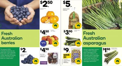 This week Woolies has some great specials on in-season fruits and vegetables.