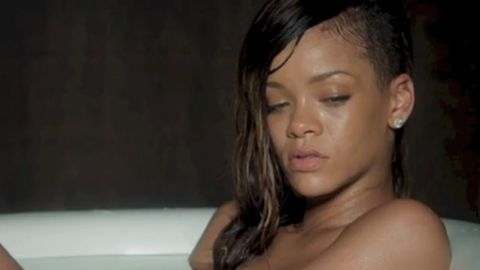 Watch: Rihanna's new music video shows off butt, nipple and beyond