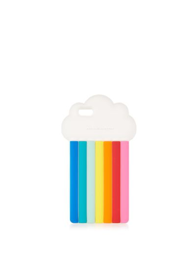"Stella McCartney rainbow iphone case $73 at <a href=""http://www.matchesfashion.com/au/products/Stella-McCartney-Rainbow-iPhone%C2%AE-6-6s-case-1074315"" target=""_blank"">Matches</a><br />"