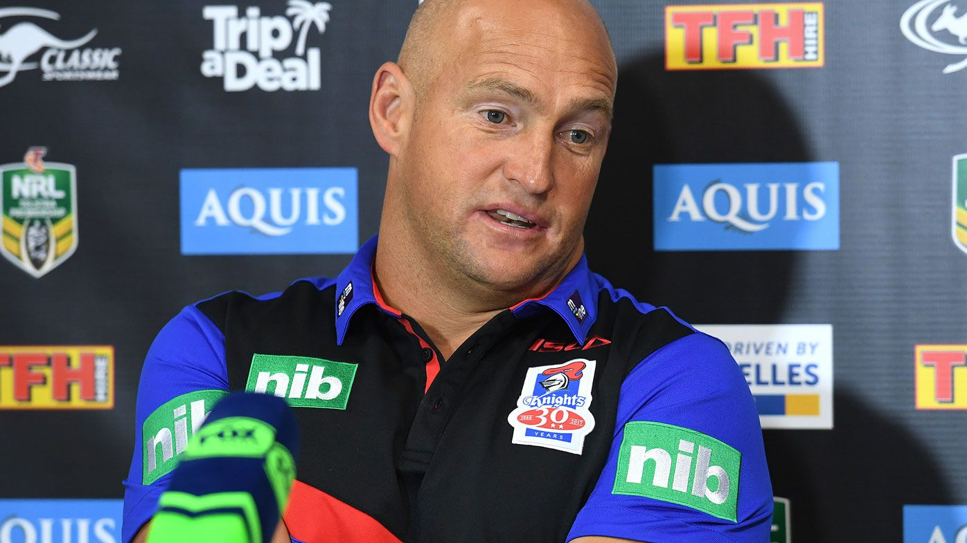 Brown takes aim at Bennett as Knights win