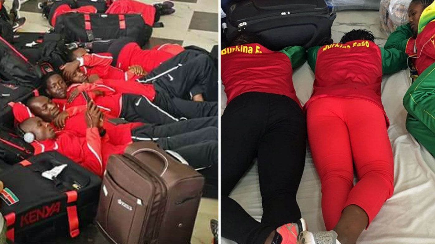 Athletes stranded at Lagos airport