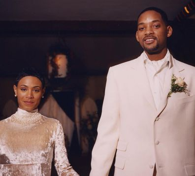 Will Smith, Jada Pinkett Smith, wedding day, 1997