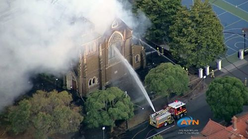 Authorities have advised members of the public to steer clear of the scene. (9NEWS)