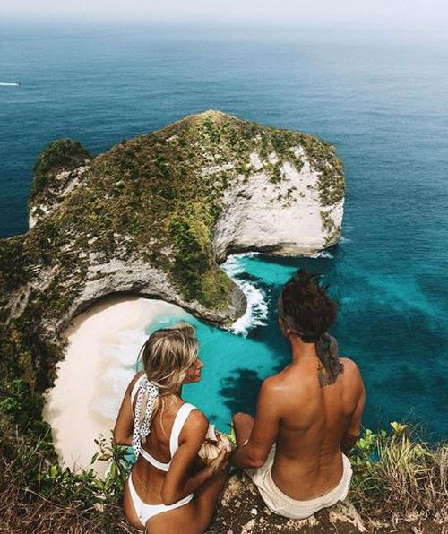 Even 'off the beaten track' experiences like this hike in Nusa Penida are now frequented by hundreds every day.