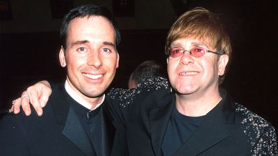 Elton John and David Furnish: Then…
