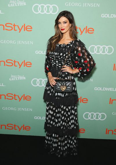 Delta Goodrem in Dolce & Gabbana at the 2018<em> InStyle and Audi Women</em> of Style awards