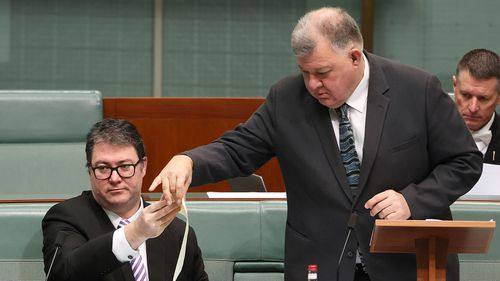 George Christensen is leaving Parliament at the end of this term, and Craig Kelly quit the Liberal Party earlier this year.