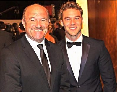 Lincoln Lewis, dad Wally Lewis, Logie Awards, 2014