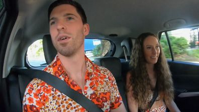 MAFS 2021 Patrick and Belinda en route reunion Dinner Party
