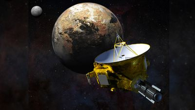 92 engineers, technicians and spacecraft communicators have ensured the safety of the New Horizons probe as it rockets through the busy Pluto system. (NASA/JHU APL/SwRI/Steve Gribben)