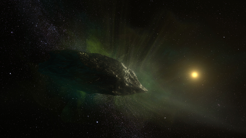 Scientists discover bizarre chemical composition inside 'alien' comet
