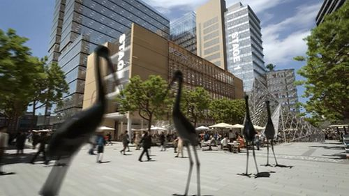 The transformation is one of the largest urban renewal projects Australia has seen. (Supplied)