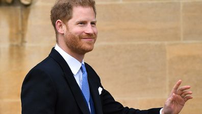 Prince Harry has been travelling solo during Meghan's maternity leave.