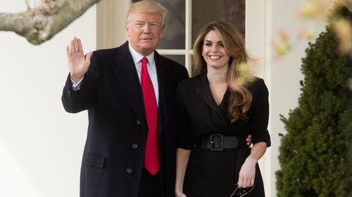 prosecutors in the Manhattan US Attorney's office interviewed Hope Hicks
