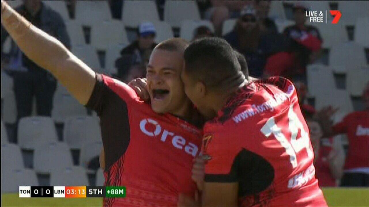 Lolohea scores for Tonga