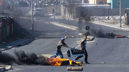 Crime has been so bad in the Cape Town slums that the military has been sent in to restore order.