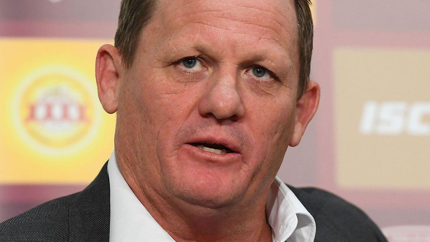 Queensland State of Origin coach Kevin Walters