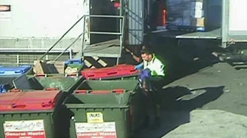 CCTV footage showed Xiberras throwing away Jo-Ann Thwaites' clothing after it had become caught underneath his truck's wheels.