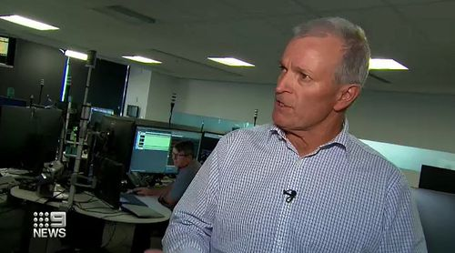 Executive General Manager Paul Jordan told 9News that the normally calm environment was completely different yesterday afternoon.