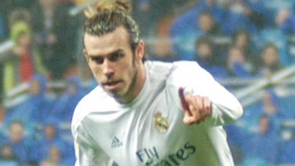 Gareth Bale. (AAP)