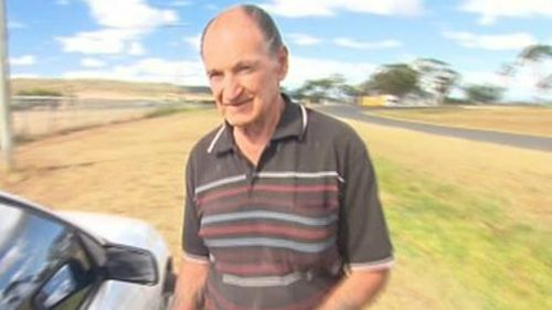 Vincent O'Dempsey was arrested after police raided several rural properties near Warwick. (9NEWS)
