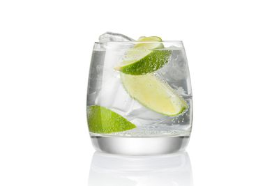 Vodka soda: About 1.3 glasses is 100 calories