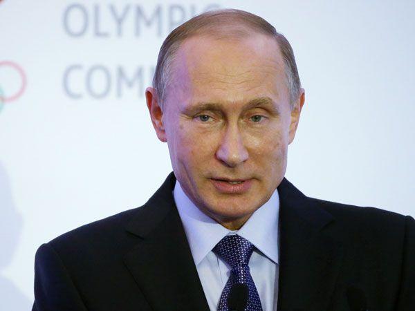 Vladmir Putin. (Getty)