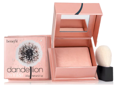 "<a href=""https://www.sephora.com.au/products/benefit-cosmetics-dandelion-twinkle-powder-highlighter"" target=""_blank"">Benefit Cosmetics Dandelion Twinkle Powder Highlighter, $51.00</a>"