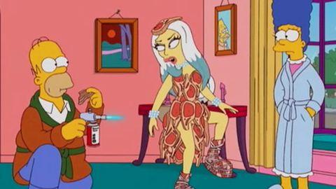 Sneak peek: Lady Gaga is 'a bit of s---' on <i>The Simpsons</i>