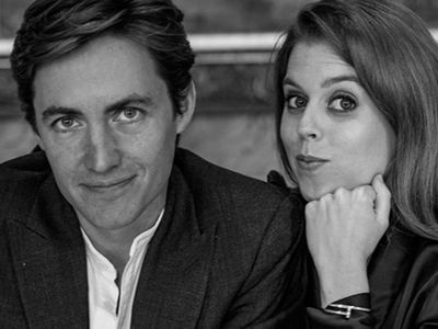 Princess Beatrice and Edoardo pose for a playful pic