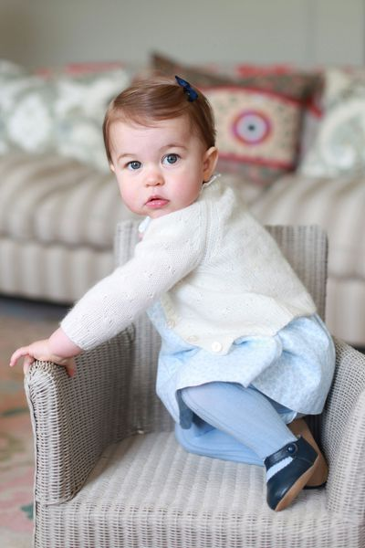 Princess Charlotte, 2 May 2015
