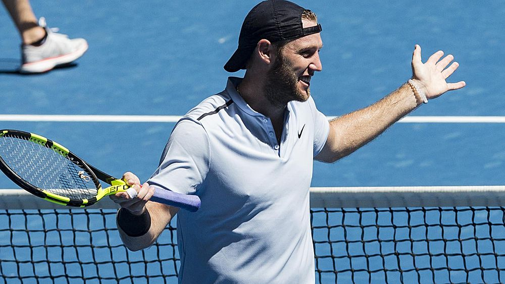 Tennis: USA's Jack Sock puts boot into Russia at Hopman Cup