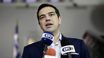 Greek Prime Minister Alexis Tsipras. (AFP)